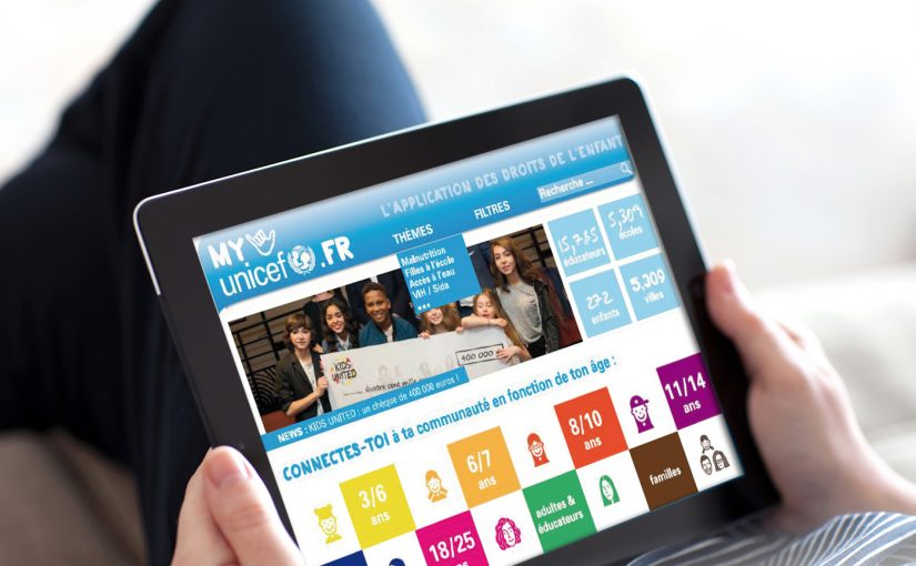 APPLICATION WEB : MYUNICEF.FR