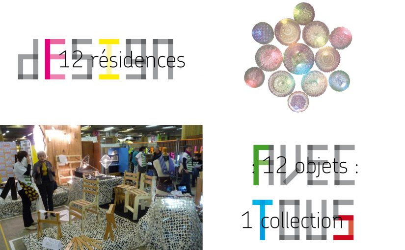 COLLECTION D'OBJETS RE-DESIGNES